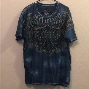 Affliction tee shirt